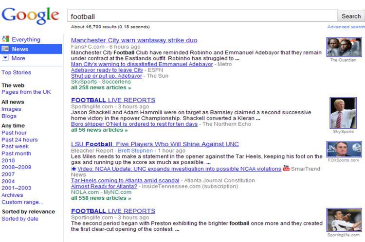 Aligned Google News