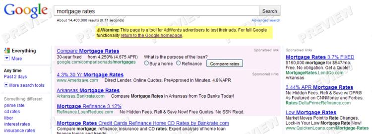 Comparison Ads