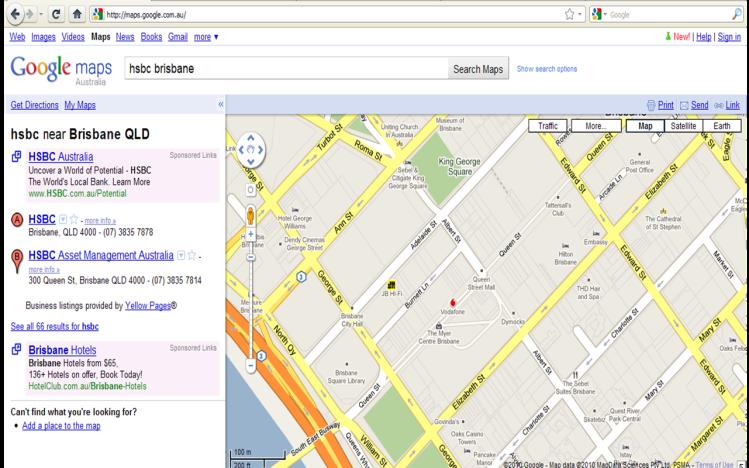 Google Maps Brand Icons