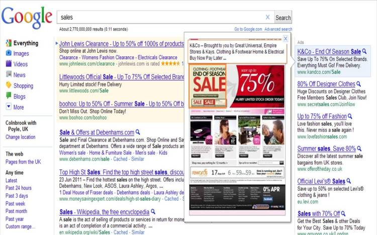 Adwords Instant Preview Promotions