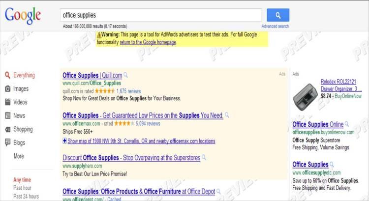 Adwords image ad